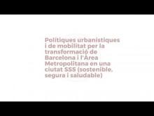 Taula 2.  Polítiques urbanístiques i de mobilitat