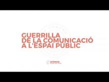 Guerrilla comunicació a l'espai públic