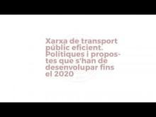 Taula 3. Xarxa de transport públic eficient