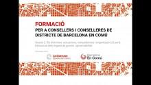 Formació per a consellers i conselleres de districte. Sessió 2 (2a part)