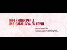 Conferència Xavi Domènech: Reflexions per a una Catalunya en comú