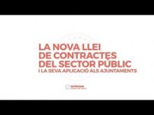 La nova llei de contractació pública. Benvinguda a càrrec de Gerardo Pisarello